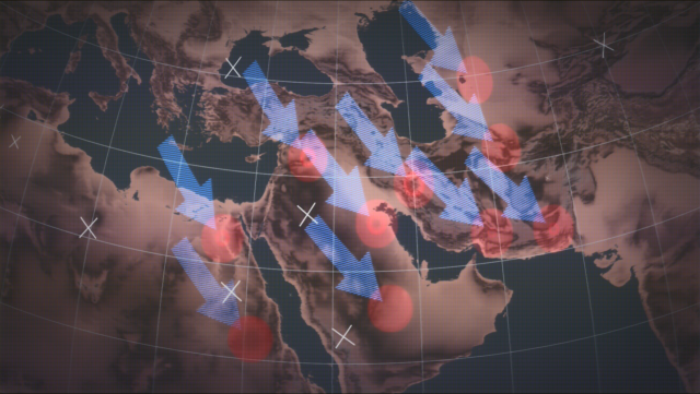 O mapa da conspiração