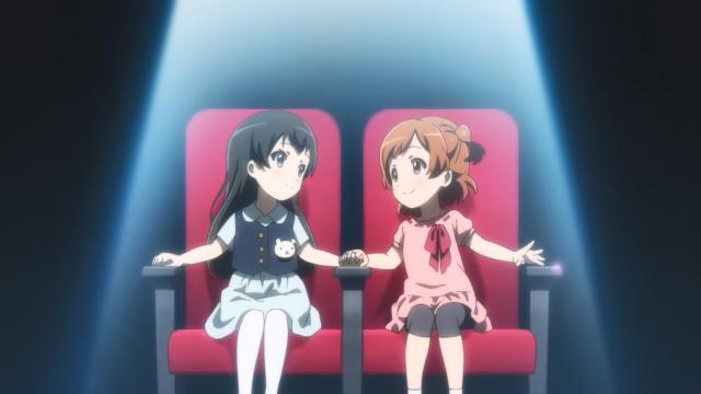 Hikari e Karen quando crianças