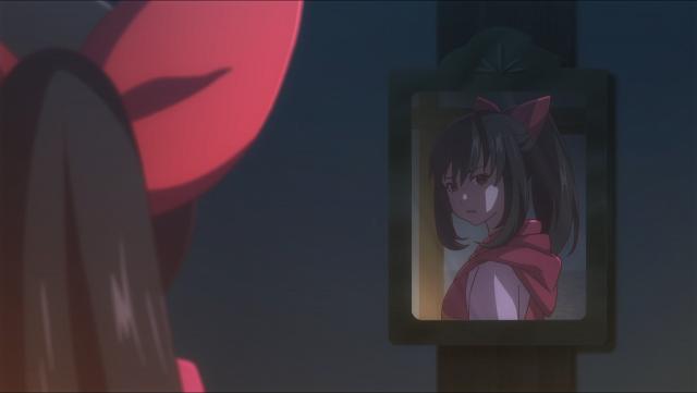 Asuka e seu reflexo
