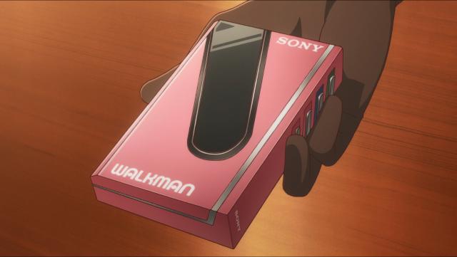 É um Sony Walkman