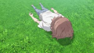 O Príncipe típico no começo do anime, após qualquer corrida