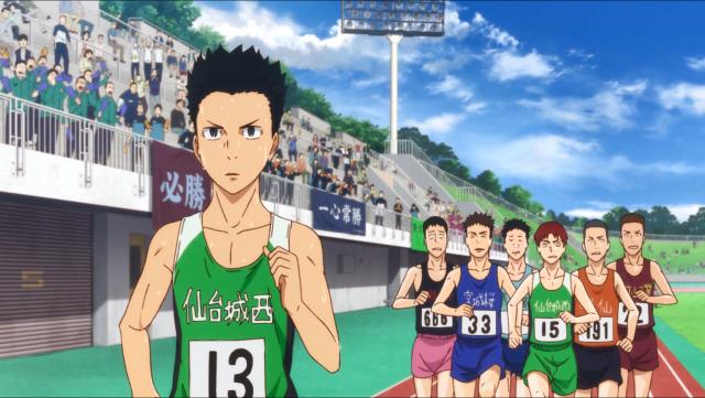 Kakeru não tinha concorrentes à altura no ensino médio