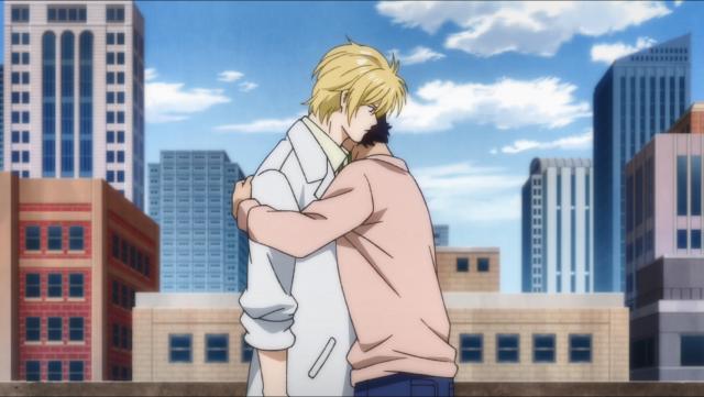 O reencontro entre Ash e Eiji