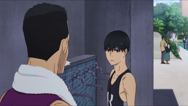 Fujioka vai conversar com Kakeru - ele o reconhece