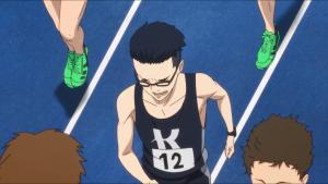 Yuki durante a corrida