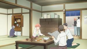 Yuu observa seus pais