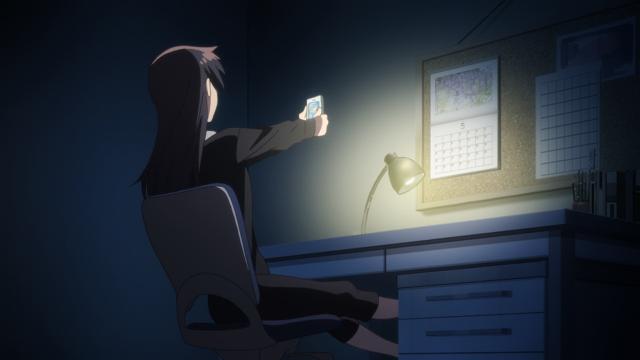 Nanami não consegue se segurar de excitação quando recebe uma foto da Yuu dormindo
