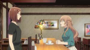 A cara de surpresa da Sayaka