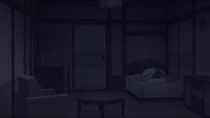 Sem ninguém por ela, aquela Asuka nunca saiu de seu quarto