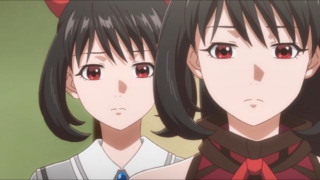 Asuka e Asuka sentem falta de Kyouhei