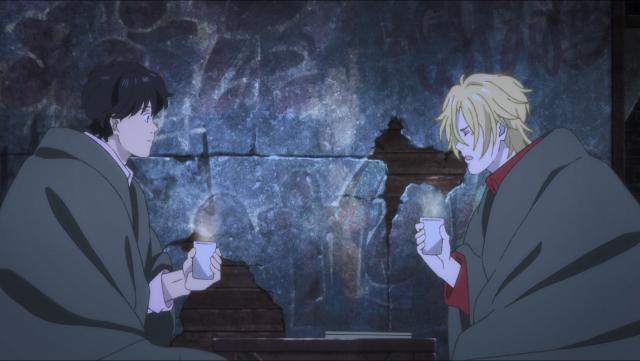 Ash agora conversa com Eiji como se fossem iguais