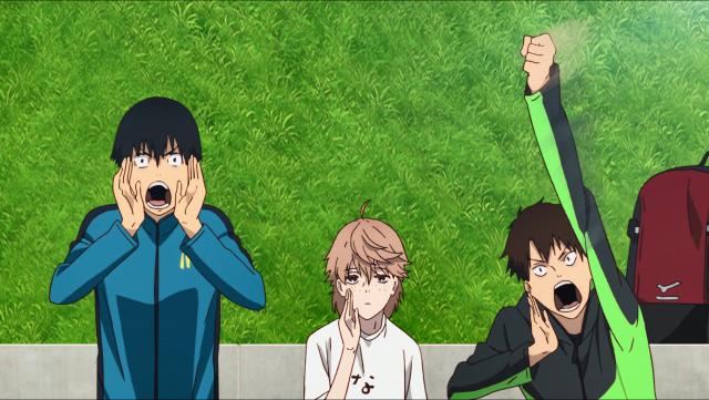 Todo mundo torcendo pelos cinco que participaram da corrida de registro. Olhe e diga se Kakeru e Haiji não dariam uma boa dupla?