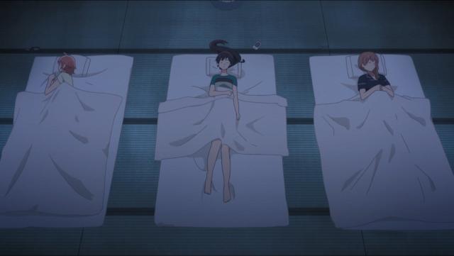 Elas parecem estar calmas, mas essa deve ter sido uma noite difícil de dormir