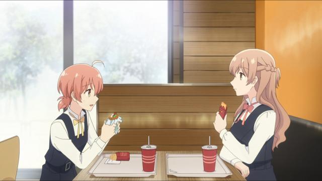 Yuu e Sayaka estão em bons termos agora