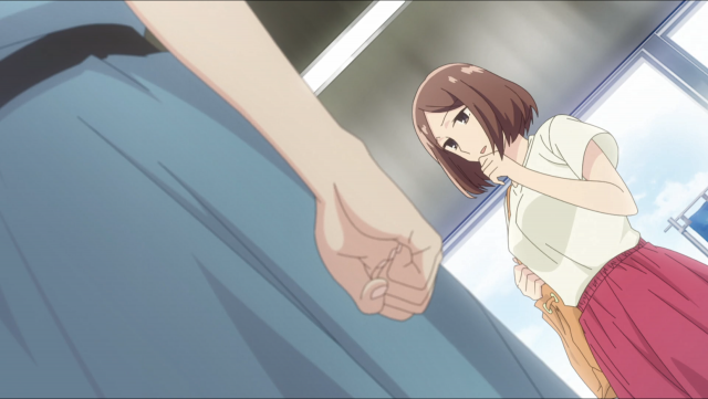 Sayaka fica furiosa com sua ex-namorada