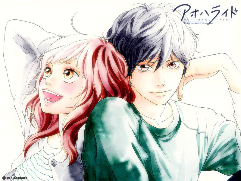 Ao Haru Ride Manga A Primavera De Nossas Vidas Anime21