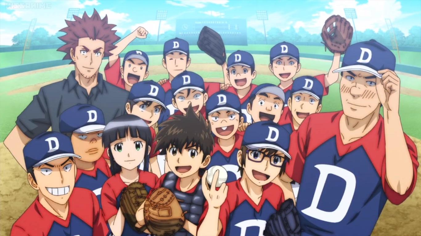 O esporte mais popular entre japoneses e entre animes pontua com esse  spin-off de um dos maiores clássicos do gênero. e79e9aa45d7