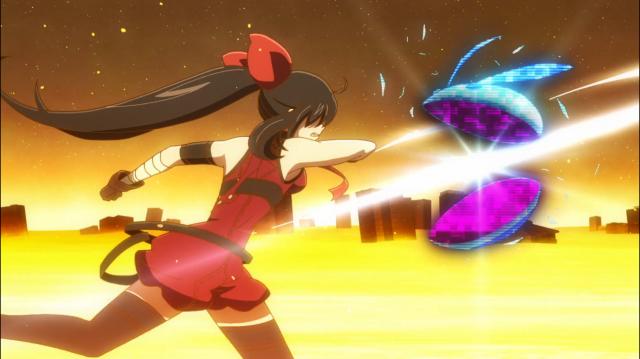A Asuka de outro mundo derrota os noises