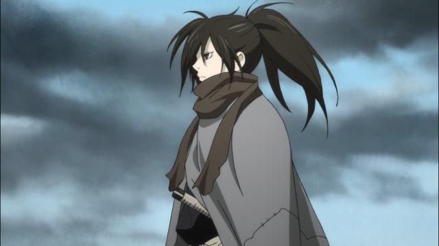 Hyakkimaru, 16 anos, quase todo seu corpo é próteses