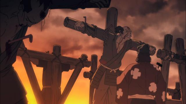 Já se praticava crucificações no Japão