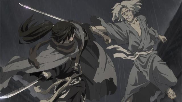 Hyakkimaru luta para valer contra Tanosuke