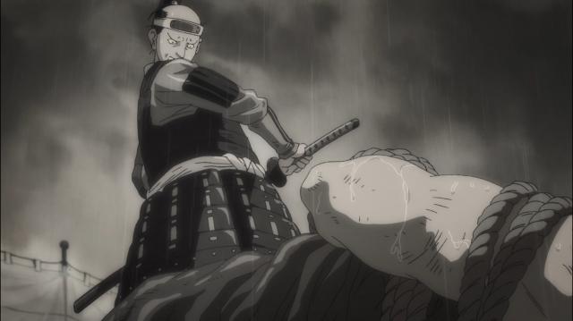 Tanosuke hesita em matar o arquiteto
