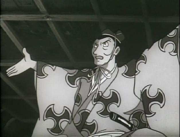 Daigo Kagemitsu fazendo o pacto com os demônios no anime de 1969