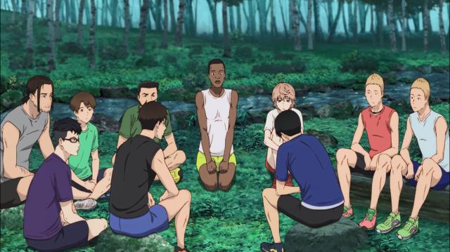 Kakeru conta sobre seu passado para todos