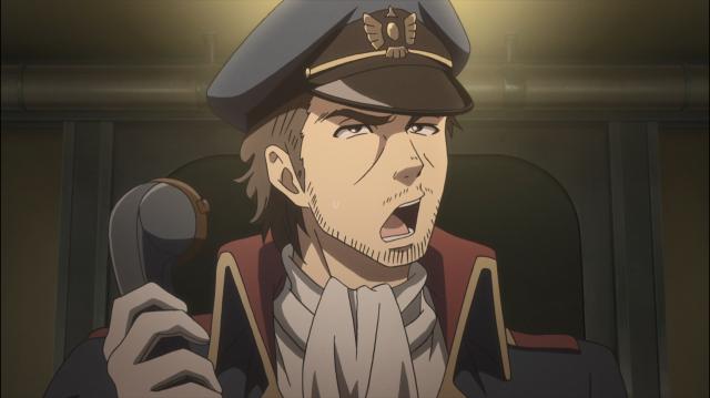 O capitão está confuso, e eu também