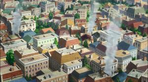 No final, a cidade está em chamas mais uma vez, mas mostraram aos piratas do que são capazes