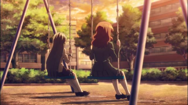 Asuka e Kurumi, duas garotas mágicas