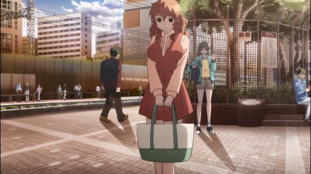 Kurumi percebe a contradição de Asuka, mas não diz nada