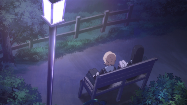 Tsuyuno e Aya aprendem aos poucos uma sobre a outra