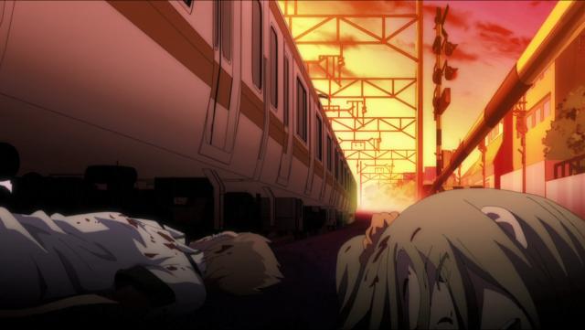 Os dois valentões que Aya mata sem querer