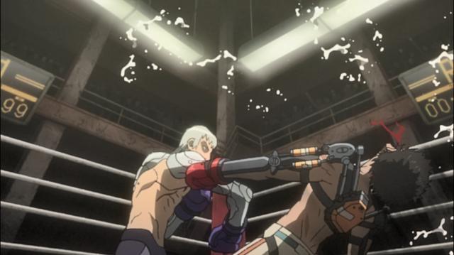 Yuri derrota Junk Dog