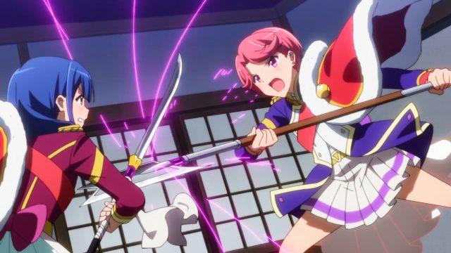Kaoruko e Futaba duelam