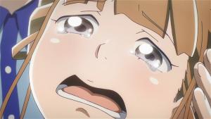 Hinata chora na conclusão de seu arco de personagem