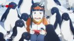 Shirase adora pinguins!