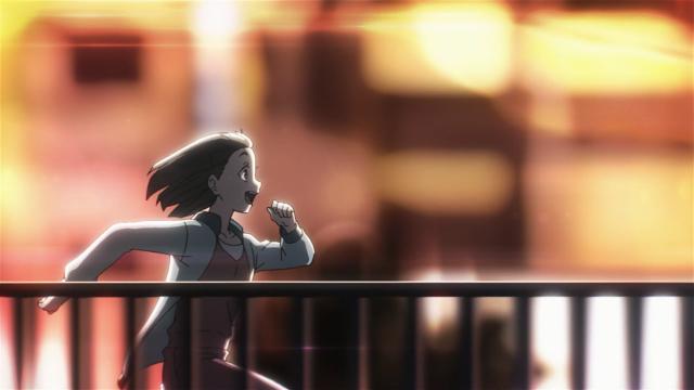 Mari corre com pressa de encontrar seu destino