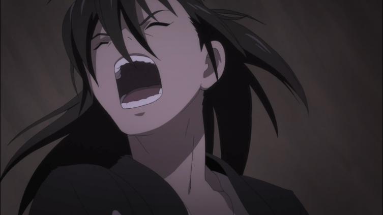 Hyakkimaru grita de dor