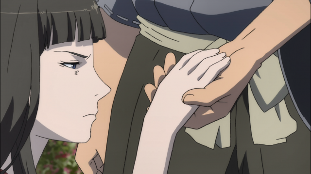 Ohagi é encontrada desmaiada na estrada e é levada pra casa por Yajiro