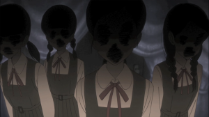 As assustadoras alunas da escola de terror