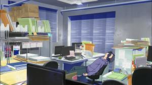 Os animadores e diretores estão exaustos, tendo trabalhado até o último instante