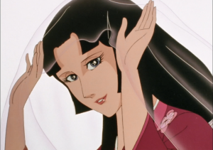 Tsukikage como a Deusa Carmesim