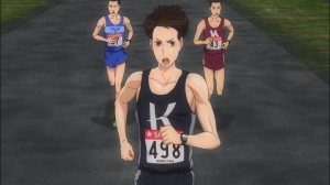Haiji acelera no final da corrida