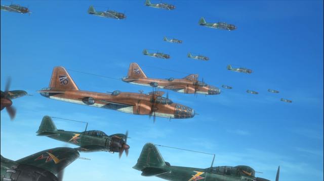 Um ataque massivo se dirige a Areshima