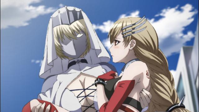 A Rainha aparece para salvar Abigail