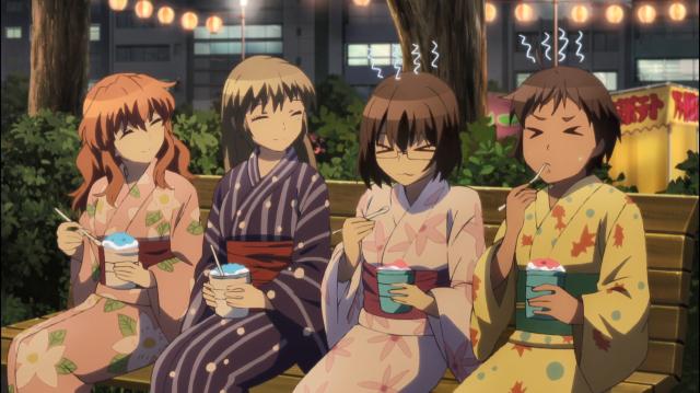 Kurumi, Asuka, Sayako e Nozomi no tanabata: quase garotas normais