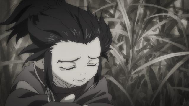 Quantas vezes Tahoumaru se sentiu triste e inseguro?