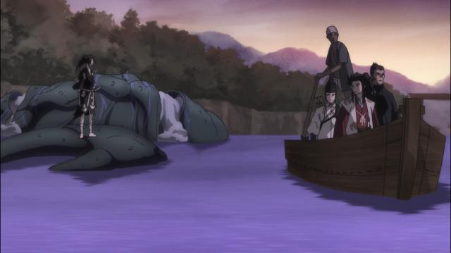 Hyakkimaru e Tahoumaru se encaram pela primeira vez